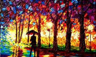Las Coloridas Pinturas De John Bramblitt