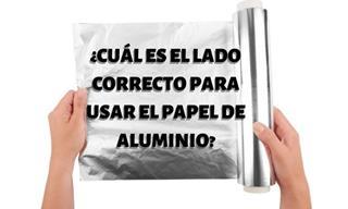 Esta Es La Razón Por La Que El Papel De Aluminio Tiene Dos Lados