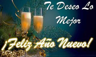 Tarjetas Para Desearle Un Feliz Año Nuevo a Tus Seres Queridos