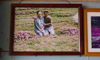 Cultiva Flores Durante Dos Años Para Su Mujer Ciega