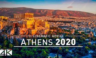 Recorrido Virtual Por La Bella Atenas En 4K