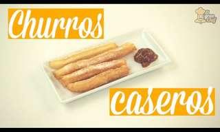 ¡Deliciosos y Crocantes Churros Caseros!