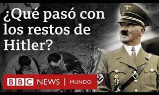 ¿Qué Pasó Con Los Restos Mortales De Adolf Hitler?
