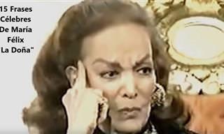 15 Frases De La Controversial María Félix