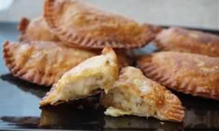 Receta: Empanadas De Puerro y Nata Con Queso