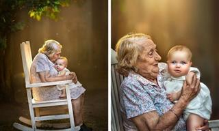 El Vínculo Entre Una Abuela y Su Nieto Representado En 12 Fotos