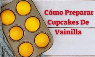 Prepara Bizcocho Para Cupcakes De Forma Fácil