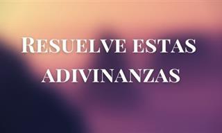 Test: Resuelve Estas Adivinanzas En Español