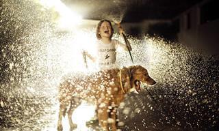 15 Bellas Fotografías De Niños Captados Disfrutando De La Vida