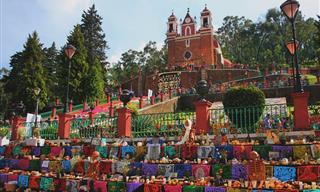Imágenes Del Tradicional Día De Muertos En México
