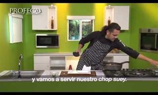 Prepara Un Delicioso y Saludable Chop Suey De Pollo