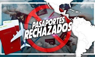Te Presentamos Los Pasaportes Más Débiles De Latinoamérica