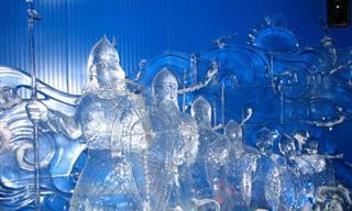 El Frío Es Arte: Increíbles Estatuas Hechas de Hielo