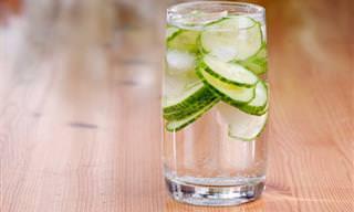 Los 7 Beneficios De Beber Agua De Pepino