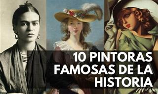 10 Mujeres Que Contribuyeron Asombrosamente Al Arte