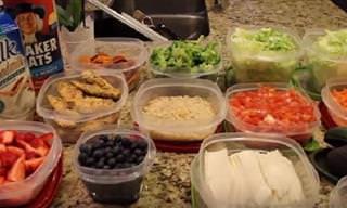 Prepara Un Menú Semanal Sano Cocinando Un Solo Día
