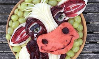 Increíbles Obras De Arte Animal Que Además Son Saludables y Deliciosas