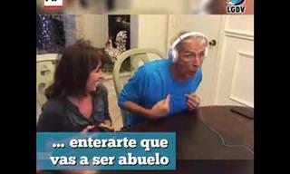 Reacción De Los Padres Al Enterarse Que Serán Abuelos