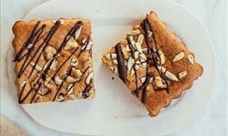 Cocina En Familia: Deliciosa Tarta De Plátano y Nueces