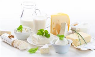 Infografía Productos Lácteos: Recomendaciones De Consumo
