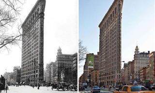 Fotos De Antes y Ahora Muestran Cómo Cambian Las Cosas Con El Tiempo