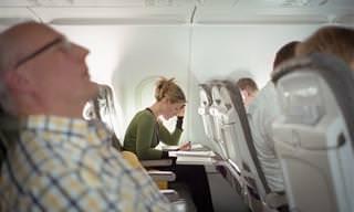 Higiene Aérea: ¿Cuál Es El Lugar Más Sucio Del Avión?
