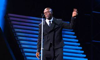 "Michael Bolton y Seal ""When a Man Loves a Woman"""