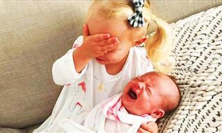 Hermosas Reacciones De Niños Con Recién Nacidos