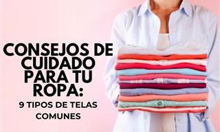 Cómo Lavar y Cuidar 9 Tipos De Telas Comunes