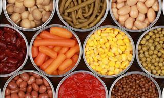 Los 7 Mejores y Los 7 Peores Alimentos a Comprar Enlatados