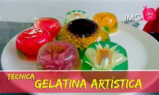 Prepara Hermosas y Deliciosas Gelatinas Artísticas