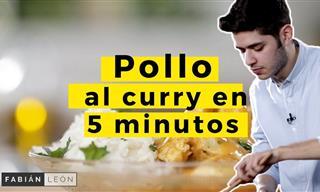 ¿Sabes Preparar Pollo Al Curry Con Leche De Coco?