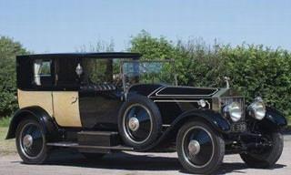 Un Rolls-Royce Estilo Francés Inspirado En En Siglo 18