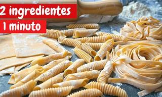 Te Enseñamos a Hacer Pasta Fresca Con 2 Ingredientes