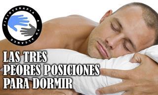 Estas Son Las 3 Peores Posturas Para Dormir