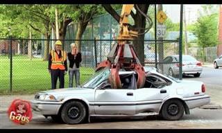 Divertidísimas Bromas Con Autos