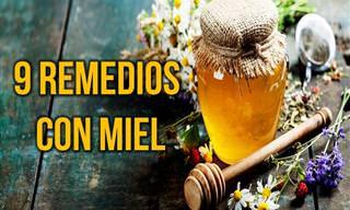MIEL: 9 Remedios Para La Piel, El Cabello y Una Mejor Salud