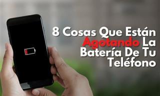 8 Cosas Que Están Agotando La Batería De Tu Teléfono