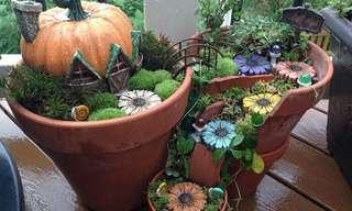 Ideas Para Darle Un Toque Mágico a Tu Jardín