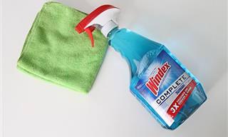 ¿Sabías Que Podías Hacer Todo Esto Con El Limpiador De Vidrios?