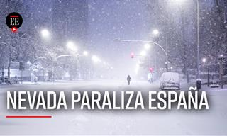 Madrid Nevado: La Mayor En La Ciudad En Medio Siglo