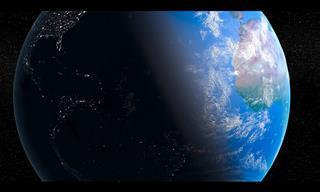 La Belleza De Nuestro Planeta Tierra Vista Desde El Espacio