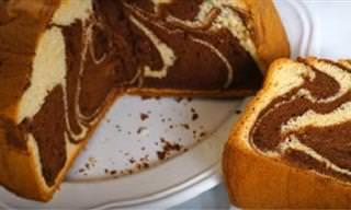 Cómo Preparar Una Sabrosa Torta Marmolada