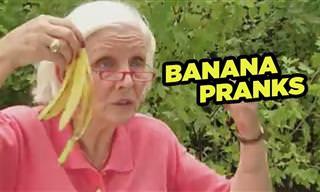 Estas Bromas Con Bananas Van a Conseguir Que Te Rías De Verdad
