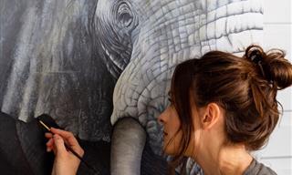 Hermosos Retratos De Animales Por Sophie Green