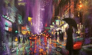 ¡Hermosas Pinturas Al Óleo Del Invierno En Nueva York!