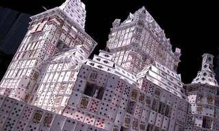 Asombrosas Construcciones Con Cartas