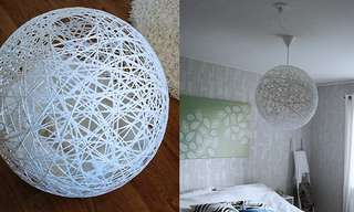 DIY: Lámpara Esfera Para Decorar Tu Hogar