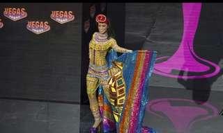 Los Atuendos Nacionales De Las Miss Universo