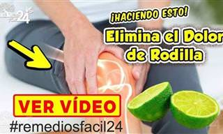 No Más Dolor De Rodillas Con Este Remedio Natural